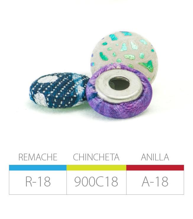 REMACHE R-18 | CHINCHETA 900C18 | ANILLA A-18
