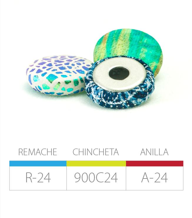 REMACHE R-24 | CHINCHETA 900C24 | ANILLA A-24